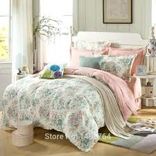 mint green bedding sets image of cotton pink rose mint green bedding set romantic interior french