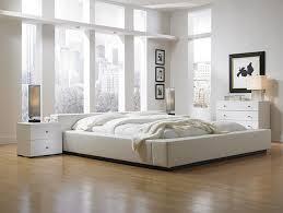 Bedroom : Elegant And Minimalist Bedroom Design In White Ideas ...