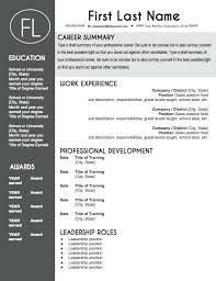 Teacher Resume Template Free Classy Modern Resume Template Free Word Teacher Resume Template Word Modern