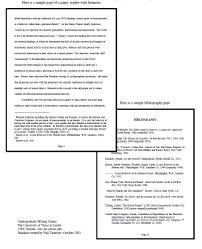 Apa Format For Paper Calgiseattlebabyco