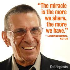 Leonard Nimoy Quotes Extraordinary A Great Leonard Nimoy Quote Imgur