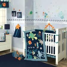 sea turtle baby bedding colorful blue ocean sea life baby boy nursery crib bedding set w