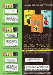 American Spirit Flavor Chart What Are All The Flavors Of Native American Spirit