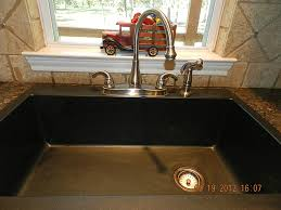 Composite Granite Kitchen Sinks Kitchen Stark Iron Kitchen Sink Black Dark Colour Design Basin
