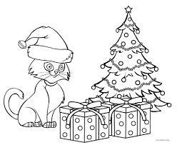 Free Printable Cat Coloring Pages For Kids Cool2bkids Inside The
