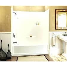 3 piece acrylic tub shower unit one piece acrylic bathtub shower oasis bath combination tub amp 3 piece acrylic tub shower unit