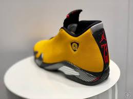 Air Jordan 14 Reverse Ferrari University Gold Black University Red Bq3685 706 Release Date Sbd