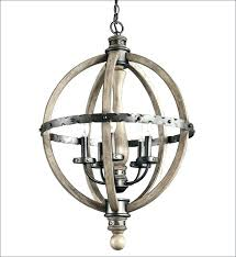 wood sphere chandelier wooden sphere chandelier distressed wood chandelier white wood and chrome barrel sphere chandelier