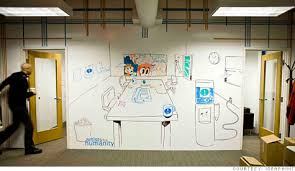 whiteboard for office wall. IdeaPaint All Over Your Office Walls Whiteboard For Wall