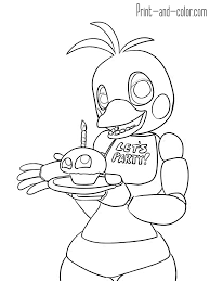 15 Five Nights At Freddys Coloring Pages Bonnie Top Free Coloring