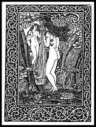 Art Nouveau Print Fairfax Muckley Illustratie Bij Etsy