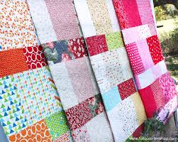 Layer Cake Lemonade Free Quilt Pattern - The Jolly Jabber Quilting ... & The Layer Cake Lemonade is a 48″ x 61″ quilt that uses just ONE layer cake.  We wanted to make the quilt as easy as possible, so we recorded a video  tutorial ... Adamdwight.com