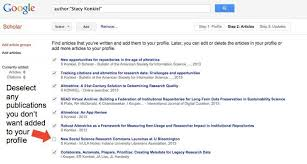 Google Scholar Profile Instructions 5 Day Impact Challenge