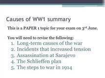 causes of ww essays compare and contrast writing prompts book causes of ww1 essays