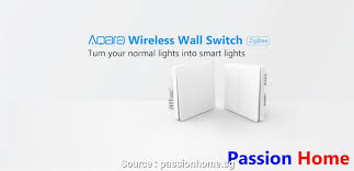 wireless light switch no neutral wire aqara wall switch double neutral wire required