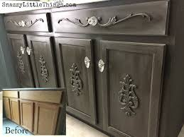 furniture embellishments. a builders grade vanity gets facelift with paint + wood embellishments. how i did furniture embellishments