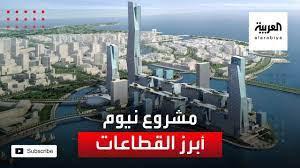أبرز القطاعات بمشروع نيوم في السعودية - YouTube