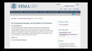 Get Free College Credits From Fema