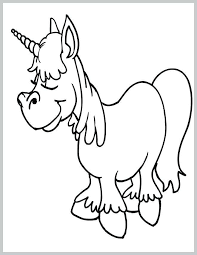 Cute Baby Unicorn Coloring Pages Cute Unicorn Coloring Pages Best Of