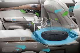 HCM Máy lọc không khí khử mùi trên ô tô xe hơi Hyundai HY 12 cao