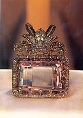 sea of light diamond from the collection of the national jewels of iran at central bank of ic republic of iran mined in india originally owned