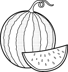 awesome watermelons coloring pages collection printable sheet