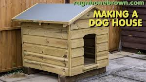 Creative Dog Houses Making A Dog House Youtube