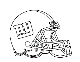 Nfl Football Helmet Coloring Pages C1966 Football Helmet Coloring