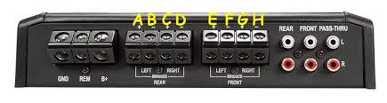 rockford fosgate p2 wiring diagram rockford image how to bridge an amplifier pictures stereochamp on rockford fosgate p2 wiring diagram
