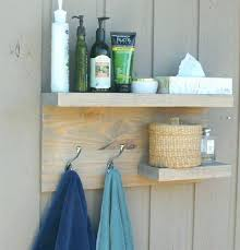 wooden towel hooks modern bathroom shelves 2 tier floating shelf rustic towel rack bronze robe hooks