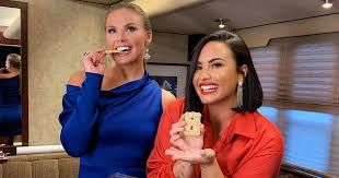 Demi Lovato and Bachelorette Hannah Brown Enjoy Windmill ...