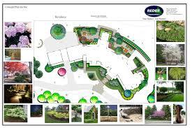 Commercial Landscape Design Plans Landscape Design Commercial Residential Simple Designs Front