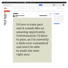 email snippet exle wireframe