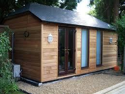 timber garden office. A \u0027Rusper\u0027 Sussex Mini Barn With Cedar Cladding \u0026 Extra Windows Timber Garden Office