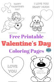 Valentines day activity for toddlers. Free Valentines Day Coloring Pages Printables For Kids More Than A Mom Of Three