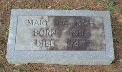 Mary Ida Rice (1886-1937) - Find A Grave Memorial