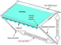 rv awning repair parts from a e and care ppl motor homes click for lager image