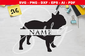 Download for free in png, svg, pdf formats 👆. French Bulldog Monogram Svg Graphic By Novart Creative Fabrica