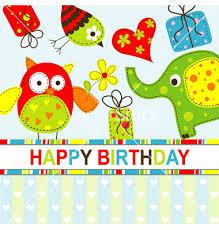 Birthday Cards Design For Kids Card Design Ideas Stupendous Owl Kids Birthday Cards Bords Pattern