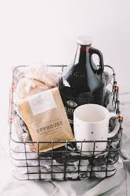 homemade holiday gift basket for the coffee lover in your life