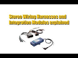 wiring harness module what do you need for your car stereo Kenwood Wiring Harness Diagram Kenwood Wiring Harness For Gmc wiring harness module what do you need for your car stereo install youtube