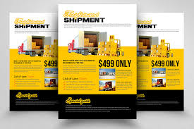 Services Flyer Logistic Freight Services Flyer