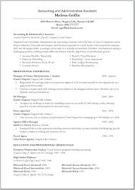 sample resume for assistant accountant great administrative assistant  resumes accounting and administration assistant resume and resume