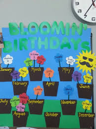 Birthday Board Birthday Bulletin Boards Classroom