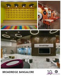 Lighting Consultants In Bangalore Broadridge Office In Bangalore Is Adorned By Our Metal Domes