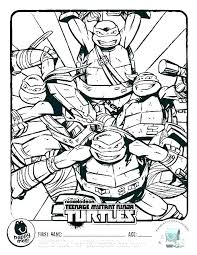 Ninja Turtles Coloring Pages Free Coloring Printable Ninja Turtles