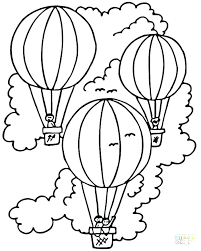 balloon coloring pages balloons coloring page coloring pages of balloons air balloon coloring page picture air balloon coloring pages