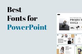 Ms Powerpoint Examples Choosing The Best Font For Powerpoint 10 Tips Examples