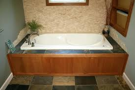 bathtub surround tile design a bathroom design roman tub and shower pictures and photos get glass