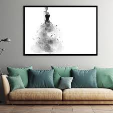 elegant girl pictures watercolor paintings abstract wall art beauty canvas print poster cuadros canvas wall painting on abstract watercolor wall art with elegant girl pictures watercolor paintings abstract wall art beauty